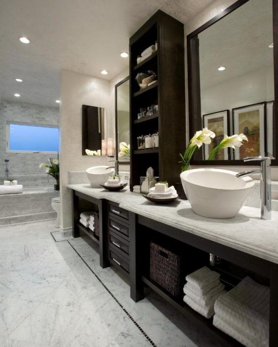 bathroom modern mirror