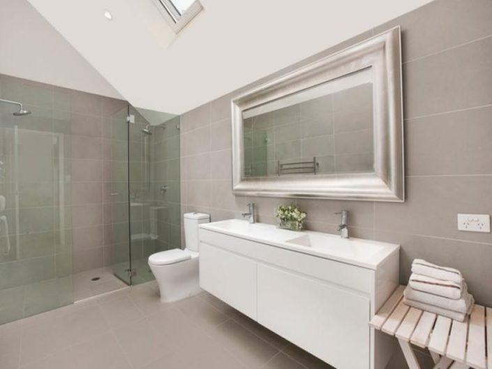 frameless shower door new york bathrooms