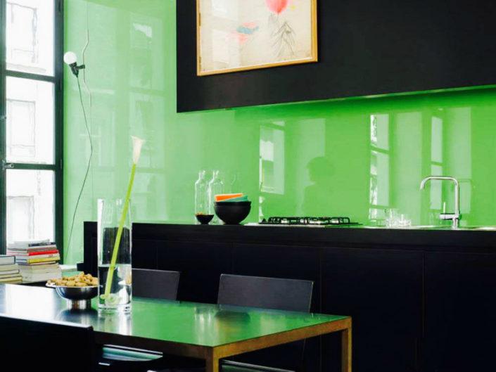 glass kitchen backsplah new york