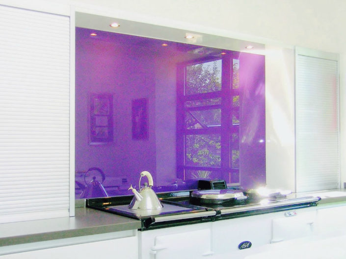 glass kitchen backsplah nyc