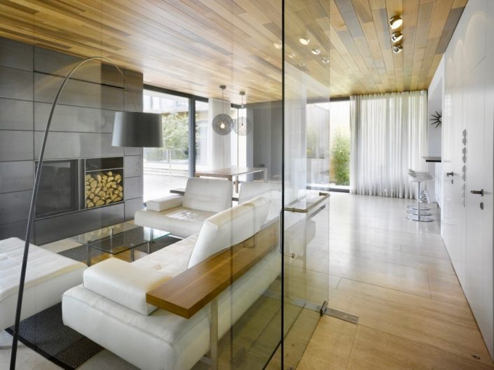 glass partitions at home