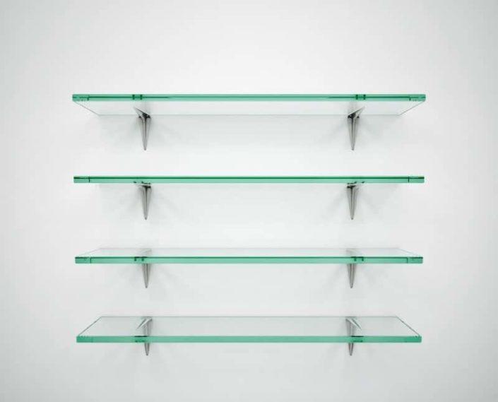 glass shelves new york