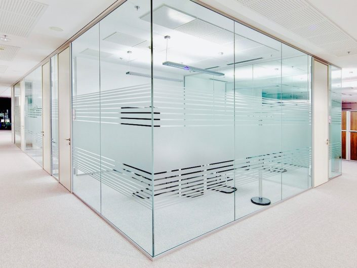 office glass partitions new york