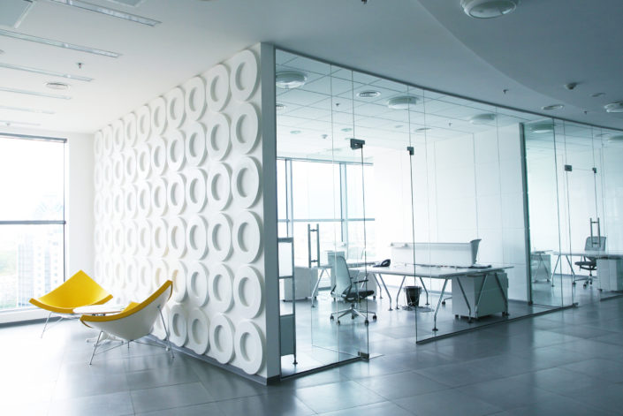 office glass wall glass partitions