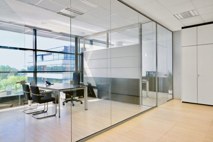 office glass walls nyc