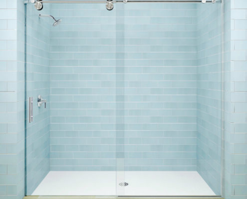 sliding shower door new york